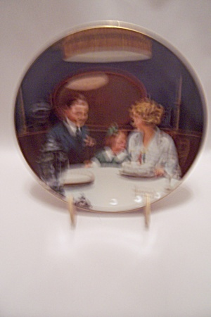 The Birthday Wish By Norman Rockwell Collector Plate