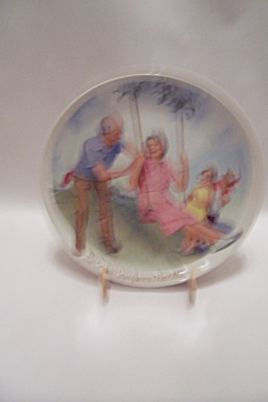 The Swinger By Csatari Grandparent 1983 Collector Plate