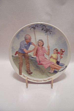 The Swinger By Joseph Csatari Grandparent 1983 Plate