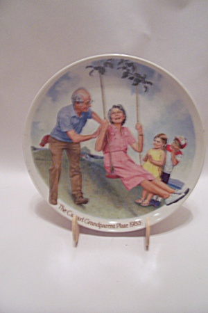 The Swinger By Joseph Csatari 1983 Grandparent Plate