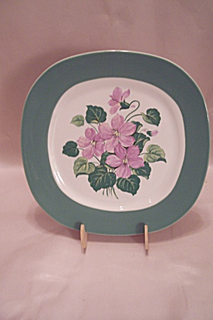 Taylor, Smith & Taylor Marsh Violet Dinner Plate