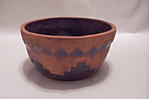 Southwestern Design Pottery Bowl