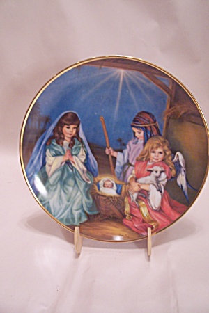 Silent Night Collector Plate By Sandra Kuck