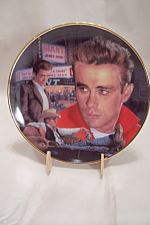 James Dean Collector Plate By Thomas Blackshear