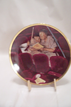 The Cleaning Ladies By Norman Rockwell Collector Plate