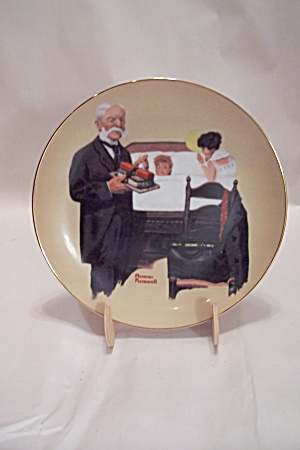 School Fever By Norman Rockwell Collector Plate