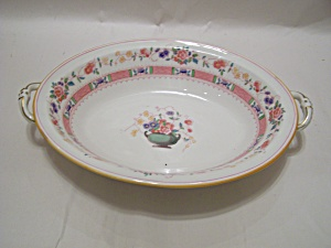 Royal Doulton Urn Pattern Fine China Oval Serving Bowl