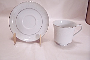Crown Victoria Lovelace Fine China Cup & Saucer