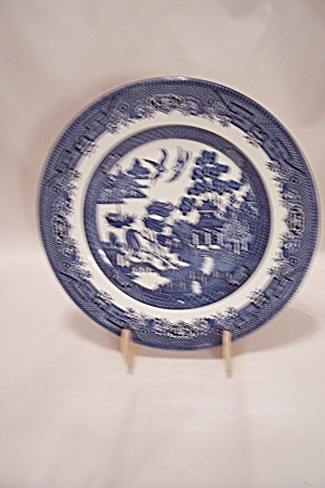 Churchill Willow Pattern Fine China Lunch Plate