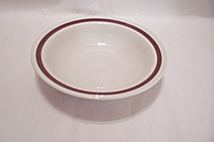 Country Ware Ashberry Pattern Stoneware Soup Bowl