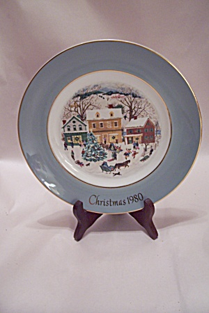Avon Christmas 1980 Collector Plate