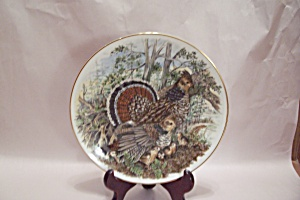 Southern Living Gallery Ruffed Grouse Collector Plate