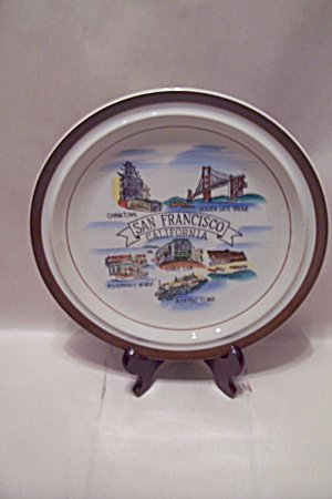 San Francisco, California Souvenir Collector Plate