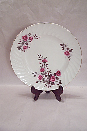 Ridgway Fragrance Pattern Ironstone Dinner Plate