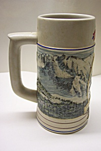 Coors Pottery Rocky Mountain Series Beer Stein (1991)