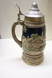 German Scene Musical Stein. (Image1)