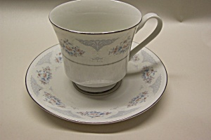 Fine China Floral Pattern Decorative Cup And Saucer