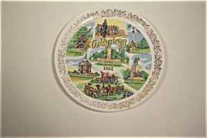 Gettysburg, Pa. 1863 Collector Plate (Image1)