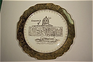 Souvenir of Missouri Collector Plate (Image1)