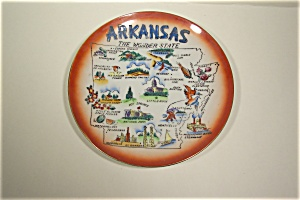 Arkansas The Wonder State Collector Plate (Image1)