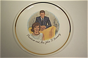 President and Mrs. John F. Kennedy Collector Plate (Image1)