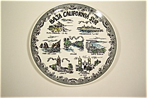 Baja California Sur Collector Plate (Image1)