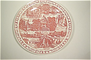 New Mexico Collector Plate (Vernon Kilns) (Image1)