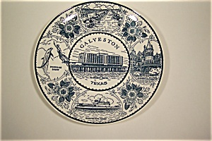 Galveston, Texas Collector Plate (Image1)
