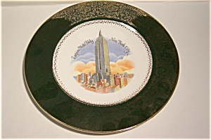 Empire State Building Collector Plate (Image1)