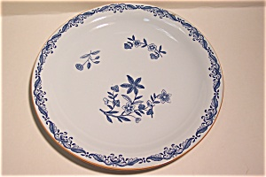 Rorstrand Flow Blue Floral Collector Plate (Image1)