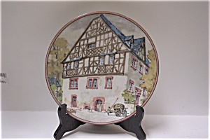 Moselhaus in Risbach Collector Plate (Image1)