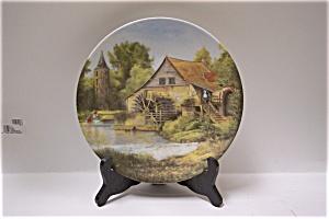 Vieux moulin a eau en Alsace Collector Plate (Image1)