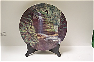 The Hidden Waterfall Collector Plate