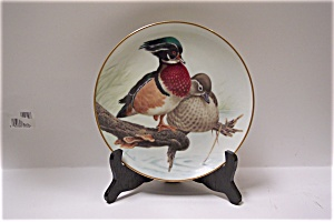 Wood Ducks In The July Sun Collector Plate (Image1)