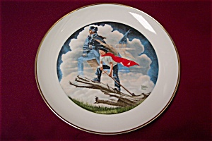 Patriots Of The American Bicentennial Collector Plate