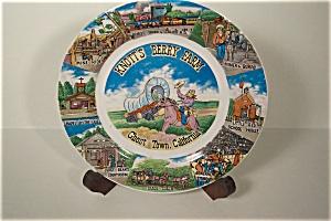 Knott's Berry Farm Souvenir Plate (Image1)