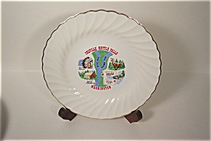 Colville-kettle Falls, Washington Souvenir Plate