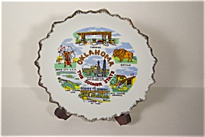 Oklahoma - The Sooner State Collector Plate (Image1)