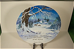1973 Christmas Collector Plate