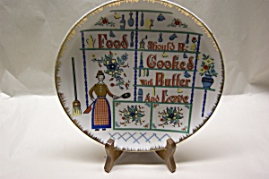 Kitchen Theme Collector Plate