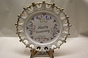 Happy Anniversary Collector Plate