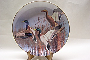 "DANBURY MINT ""Hazy Ascent"" Collector Plate (Image1)"
