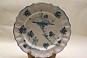 Handpainted Italian Collector Plate