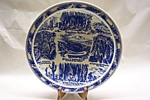 Vernon Kilns Carlsbad Caverns Plate (Image1)