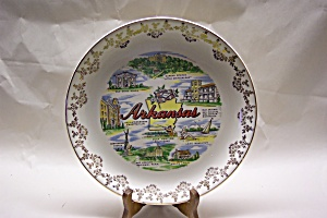 Arkansas State Souvenir Collector Plate (Image1)