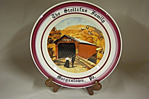 Covered Bridge Collector Plate (Image1)