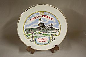 U.S.S Texas Battleship Plate (Image1)