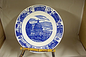 Historic Washington D.c. & Eisenhower Plate