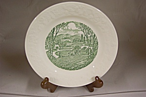 HOMER LAUGHLIN Pastoral Plate (Image1)