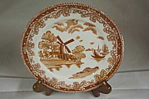 Occupied Japan Dutch Scene Plate (Image1)